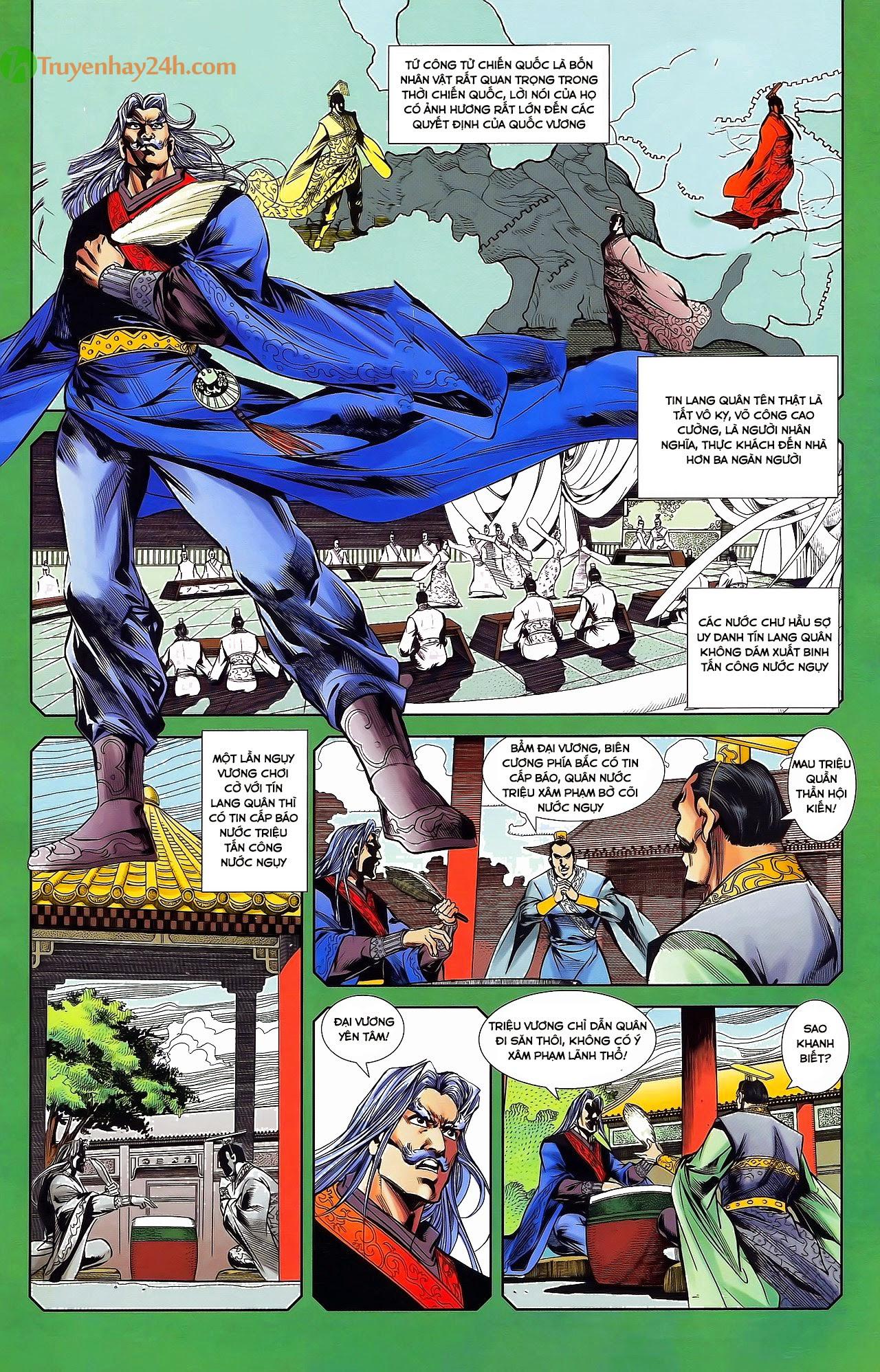 Tần Vương Doanh Chính chapter 31 trang 16