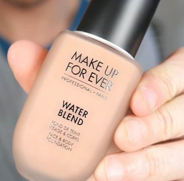 NEW BEAUTY | MAKEUP FOREVER WATER BLEND FOUNDATION REVIEW PRICE SWATCHES
