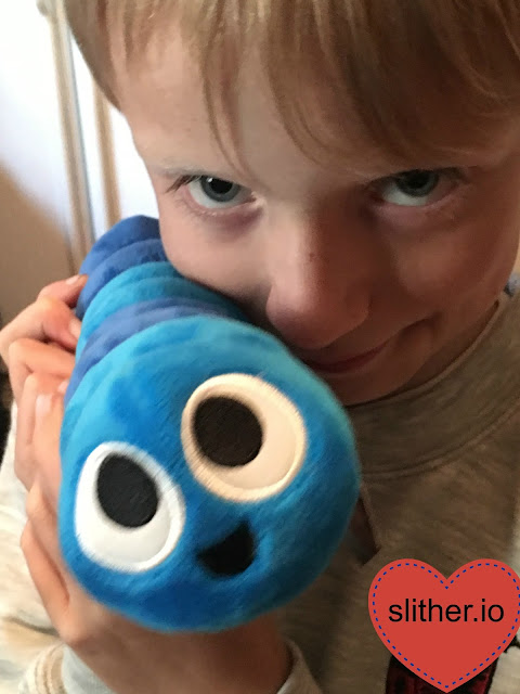 Slither-io toys for sensory bags #ASD