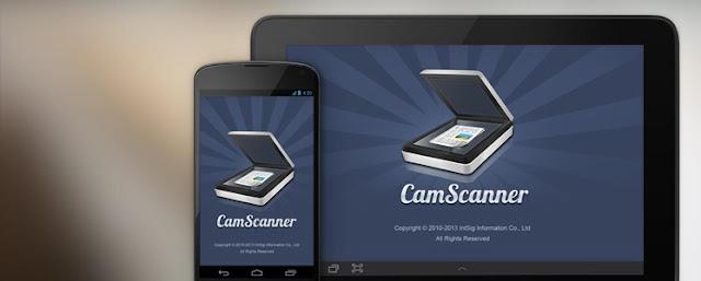 تطبيق سكنر أندرويد ، تطبيق CamScanner ، Scanner أندرويد ، أفضل Scanner للأندرويد
