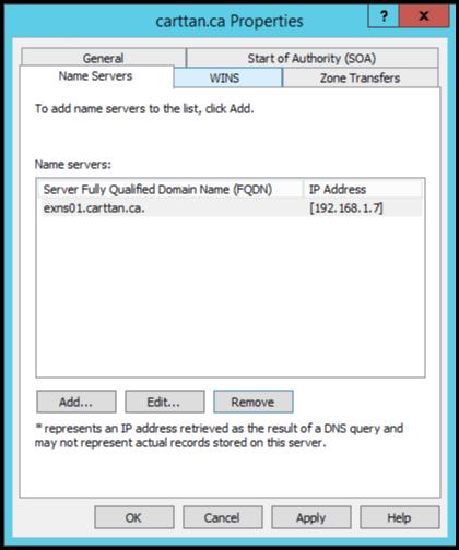 Figure 16: Step 16 of migrating a Linux BIND name server to a Windows Server DNS server.
