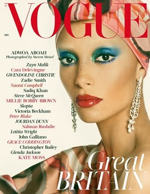 Vogue UK - Adwoa Aboah