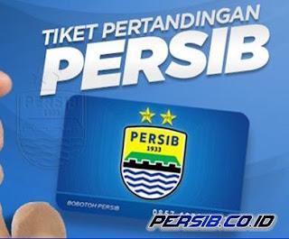 Cara Membeli Tiket Pertandingan Kandang Persib Bandung, 100% Dijual Online