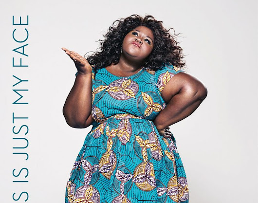 "Gabourey Sidibe Shares the Cover of Her Memoir: ""This is Just My Face: Try Not to Stare."""