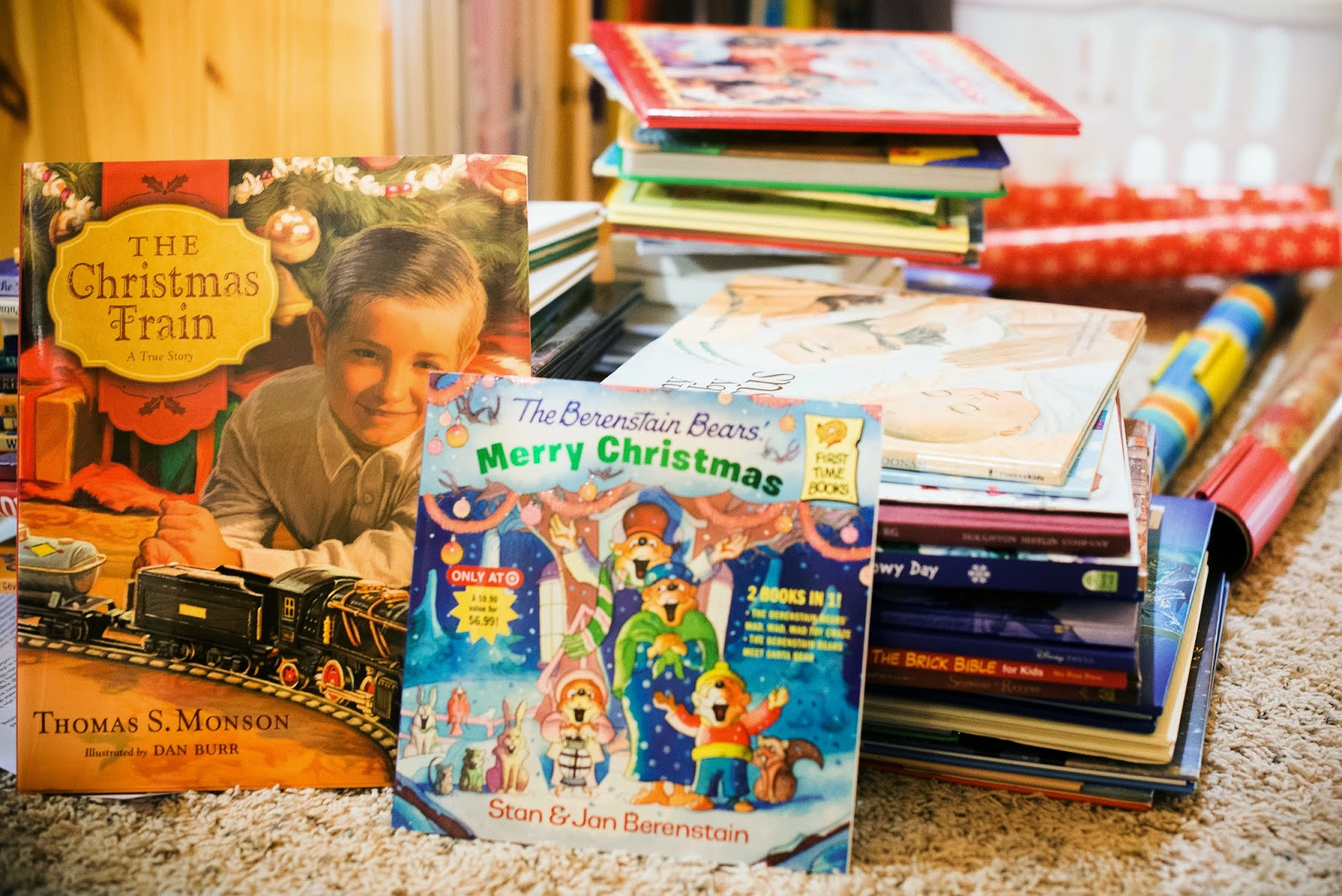 A Christmas Story Kid Wrapped Up.Reading To Know Christmas Book Countdown