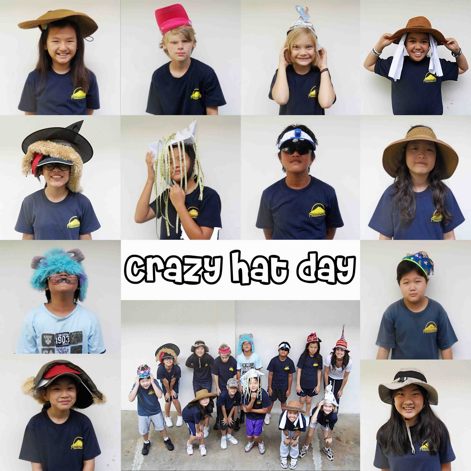 Crazy Hat Day For School: TheTravelingTeacher: School