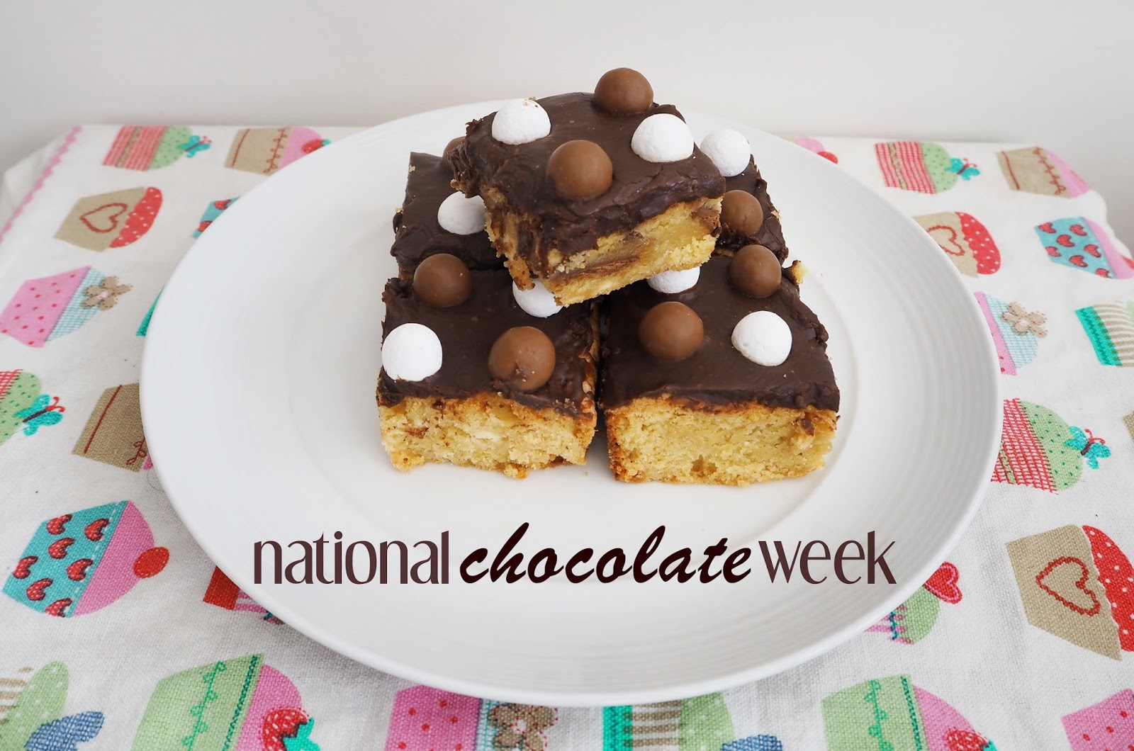 Baking Brownies for National Chocolate Week: Katie Kirk Loves Blog