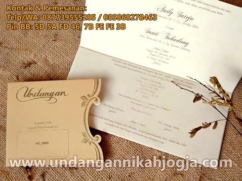 undangan nikah jogja UE01