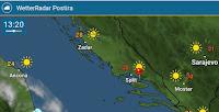 Naglo i izraženo zatopljenje lipanj slike otok Brač Online