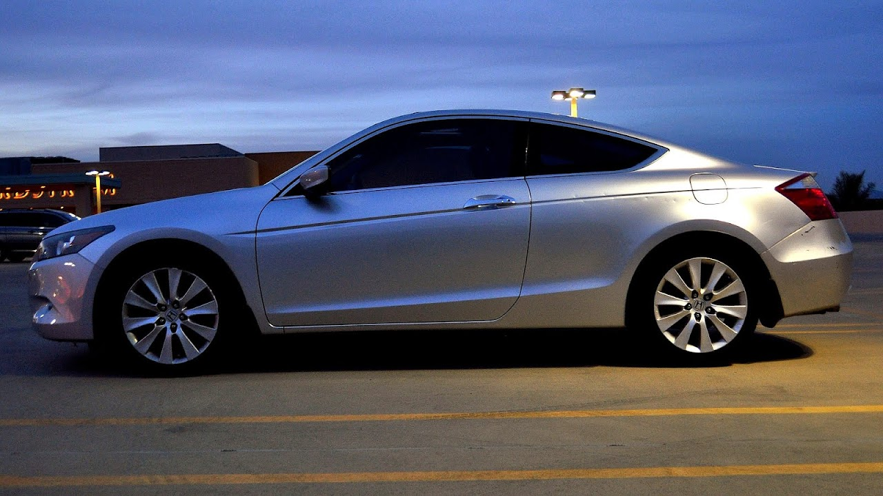 2008 honda accord coupe exl review