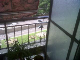 Cerramiento de una terraza