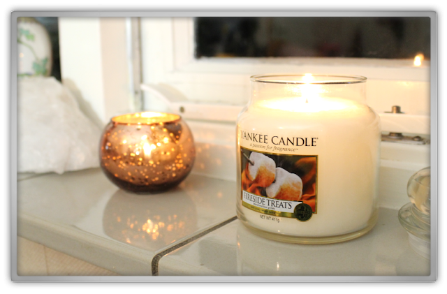 Yankee Candle haul review Autumn daily snow fresh fireside treats marshmallow medium jar