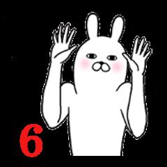 Fun Sticker gift to mizuho Funnyrabbit6