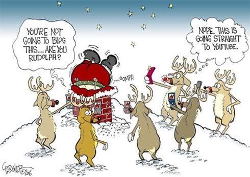 čestitke za božić vicevi Svaštara   Smiješne Slike   Vicevi   SMS: Sobovi snimaju djed  čestitke za božić vicevi