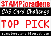 Top Picks CAS Card STAMPlorations