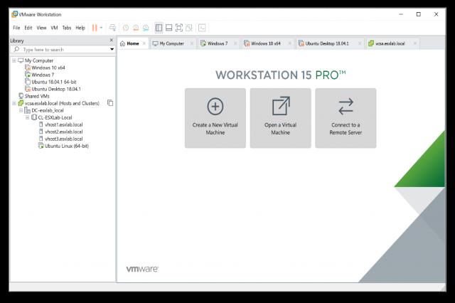 تحميل برنامج إنشاء الأنظمة الوهمية VMware Workstation Pro 15 للويندوز