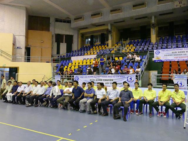 Trang trọng lễ trao giải bóng chuyền doanh nghiệp TPHCM - Cúp Bidrico 2019