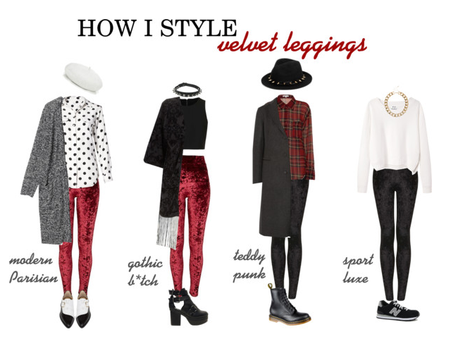 how to style velvet leggings, styling velvet leggings, how to wear velvet leggings,