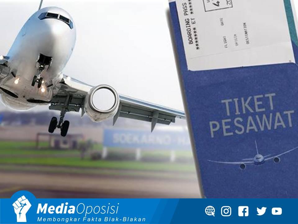 Konspirasi Dibalik Naik Turunnya Harga Tiket Pesawat Media