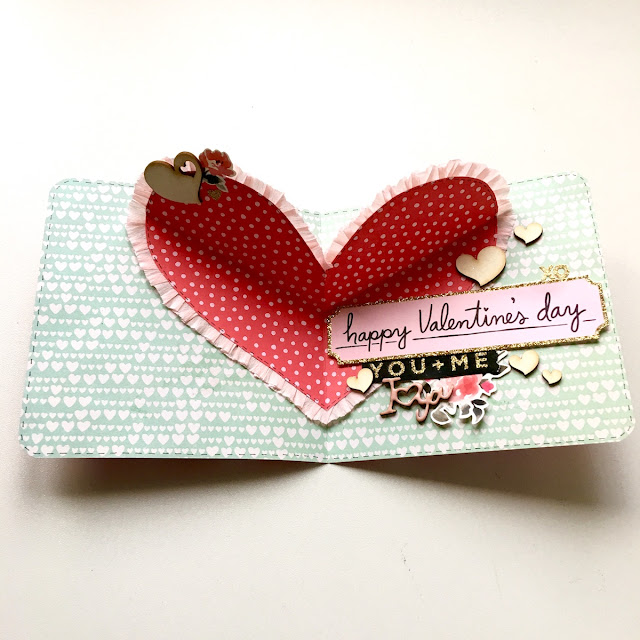 Love Pop-Up Card by Angela Tombari for Yuppla Craft DT