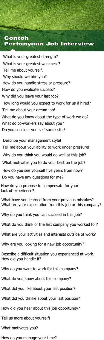Contoh Interview Dalam Bahasa Inggris : contoh, interview, dalam, bahasa, inggris, Contoh, Pertanyaan, Interview, Dalam, Bahasa, Inggris, Beserta, Artinya