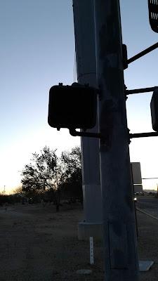 Broken Crosswalk Signal