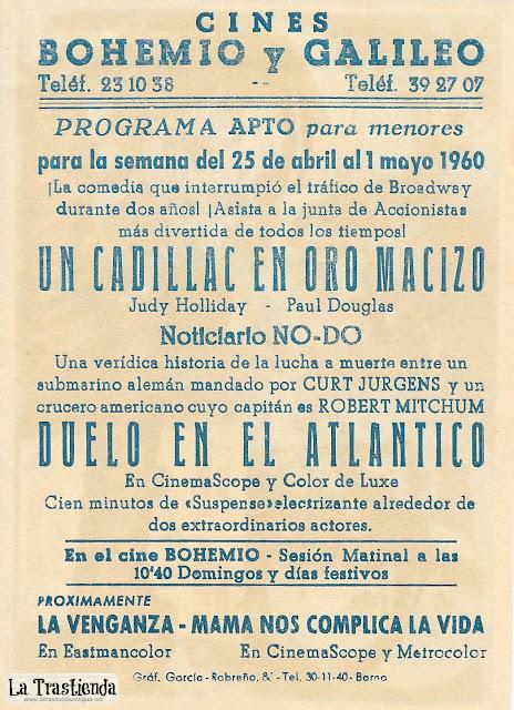 Duelo en el Atlántico - Programa de Cine - Robert Mitchum - Curd Jurgens