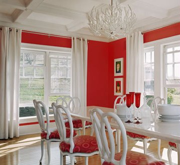 Southgate Residential The Ubiquitous Red Dining Room