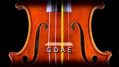 lên dây đàn violin