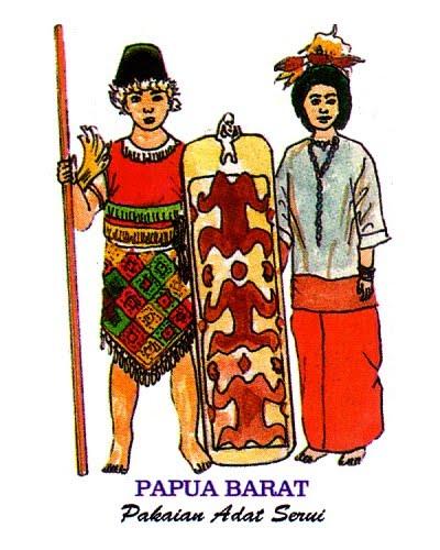 Gambar Rumah Adat Papua Kartun Rumah Adat Indonesia