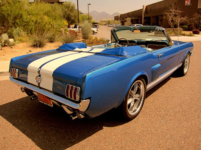 1966 Ford Mustang GT 350 Sport Convertible Rear Right