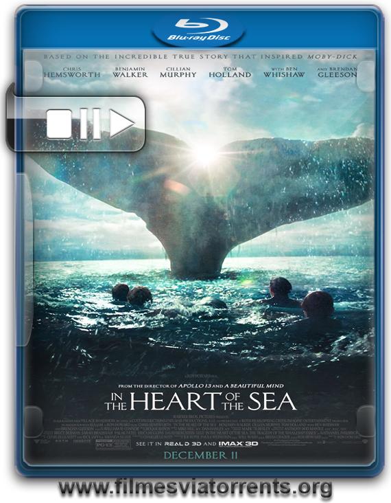 No Coração do Mar Torrent - BluRay Rip 720p e 1080p Legendado (2015)