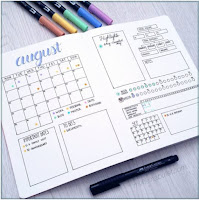 my.life.in.a.bullet Instagram photo - Getting Organized: Bullet Journaling - Authentic in My Skin authenticinmyskin.com
