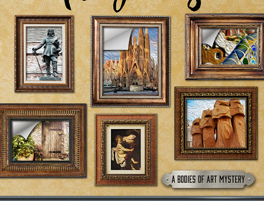 """Fatal Forgeries"" Body of Art Mystery  By Ritter Ames: Review/Giveaway"