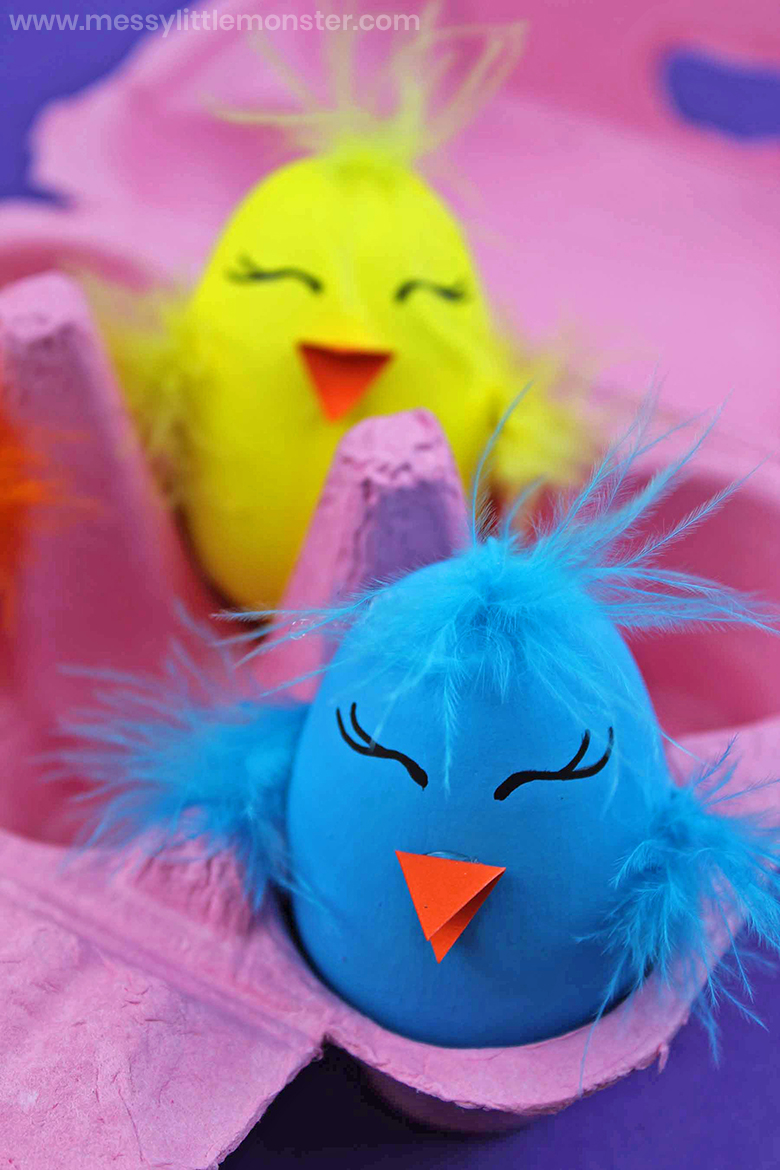 Chick Craft - Painted Wooden Eggs