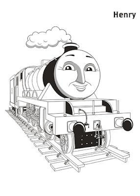Gambar Mewarnai Thomas and Friends - 18