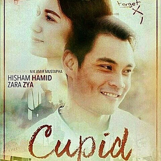 Hero & Heroin Telemovie Cupid iaitu Hisyam Hamid dan Zara Zya
