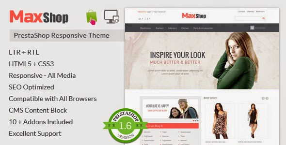 best clothes shop template