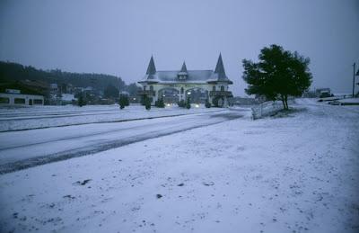 Neve em cidades brasileiras em julho 2013