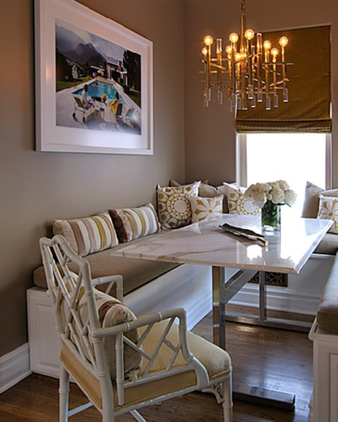 Built In Bench Seating: TROVE INTERIORS: A Closer Look: Banquette Seating