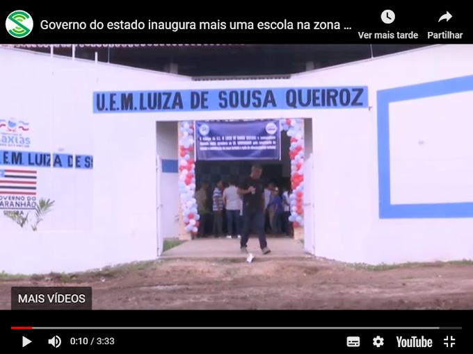 MARANHÃO - Governo do estado inaugura mais quatro escolas na zona rural de Caxias