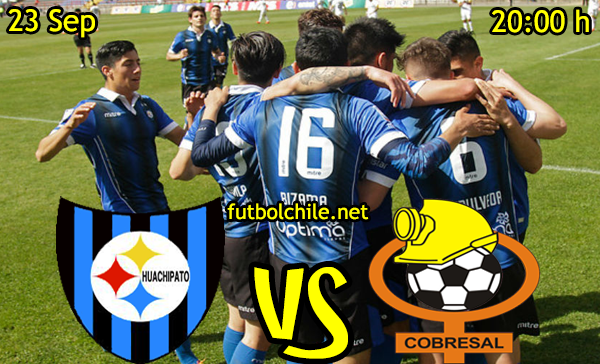 Ver stream hd youtube facebook movil android ios iphone table ipad windows mac linux resultado en vivo, online: Huachipato vs Cobresal