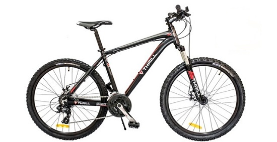 Review dan Harga Sepeda Gunung 26 Thrill Cleave 1.0