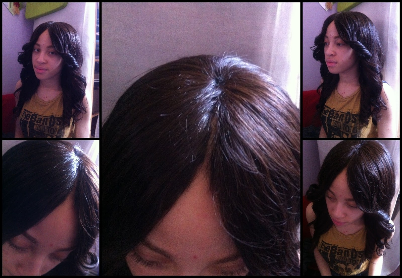 Hair By Tolan!: Invisible Part Weave Recontruction