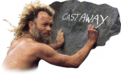 Poster Of Cast Away In Dual Audio Hindi English 300MB Compressed Small Size Pc Movie Free Download Only At worldfree4u.com