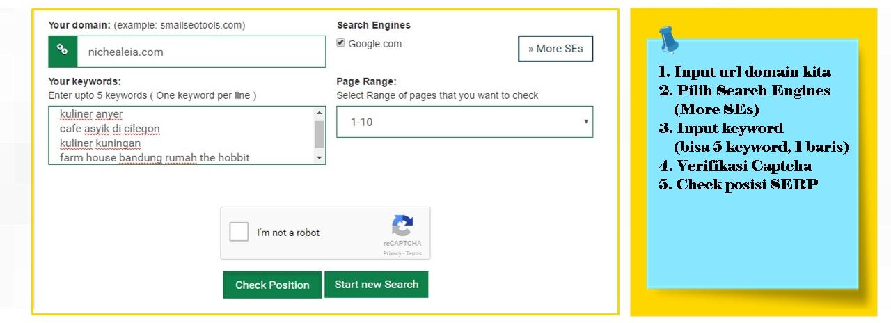 5 Cara Mudah Mengetahui Posisi Artikel Pada Search Engine Menggunakan Aplikasi Gratisan