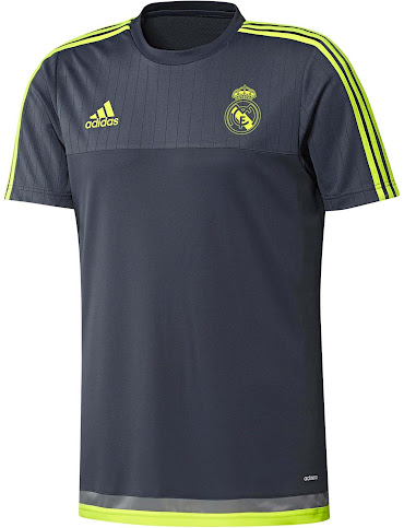 3c7f82a98 This is the primary Real Madrid 15-16 Training Jersey by Adidas.