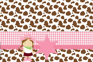 Little Cowgirl: Free Printable Invitations and Party Printables.