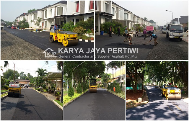 Kontraktor Pengaspalan Jalan, Jasa pengaspalan Jakarta Bogor depok bekasi tangerang bandung banten subang