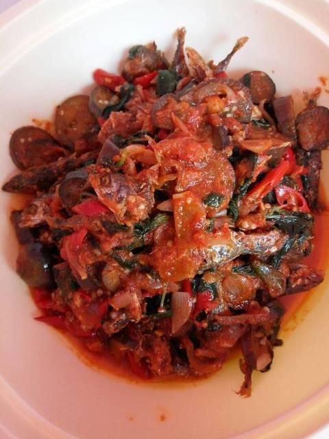 Resep sambal ikan kemangi dan terong ala rumah makan ciwidey